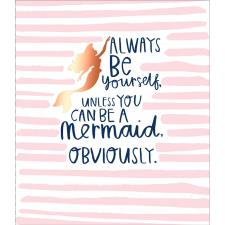 Always Be yourself Arial Disney Princess Card