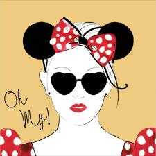 Oh My Disney Minnie Mouse Card
