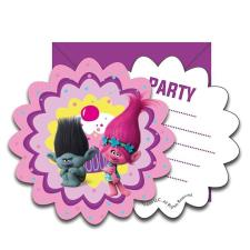 Trolls Party Invites (Pack of 6)