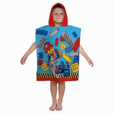 Lego City Construction Hooded Towel Poncho