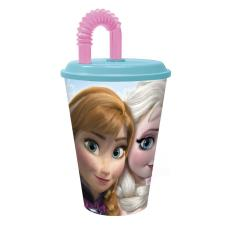 Frozen 430ml Sports Tumbler with Straw