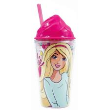 Barbie Drinks Cup with Straw