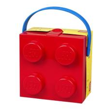 Lego Red Square Lunch box