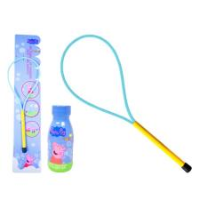 Peppa Pig Bubble Hoop & 250ml Bubble Solution
