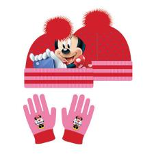 Minnie Mouse Pink Bobble Hat & Gloves Set