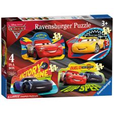 Disney Cars 4 Shaped Jigsaw Puzzles