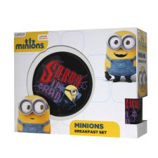 Sorry Im Bad Minions Dracula 3 Piece Breakfast Set