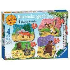 The Gruffalo 4 in a Box Shaped Puzzles