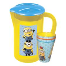 Minions Picnic Pitcher & 3 Tumbler Set