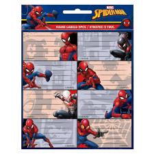 Spiderman Name Labels Sheets