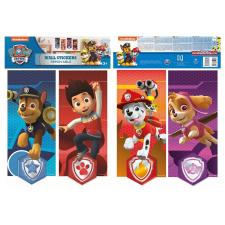 Paw Patrol Flag Banner Wall Stickers (Pack of 4)