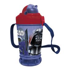 Star Wars Pop Up Drinks Bottle With Straw