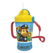 Paw Patrol Pop Up Drinks Bottle With Straw