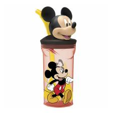 Mickey Mouse 3D Figurine Tumbler With Straw