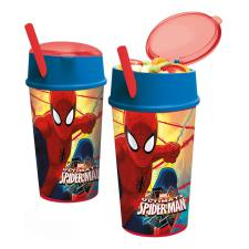 Spiderman Drinks Bottle With Snack Compartment