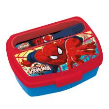 Spiderman Lunch Box With Cutlery