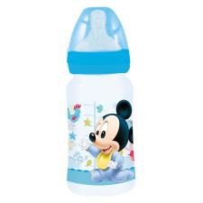 Mickey Mouse 240ml Wide Neck Silicone Baby Bottle