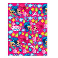 Shimmer & Shine Hot Pink 2m Roll Wrap