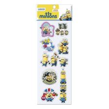 Minions Puffy Stickers Sheet