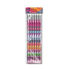Trolls (Pack of 6) HB Pencils Stationery Set