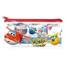 Super Wings Clear Filled Pencil Case