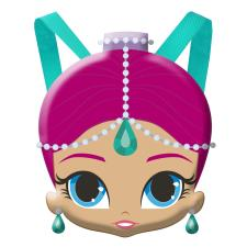 Shimmer & Shine Head Shaped Shimmer Plush Backpack