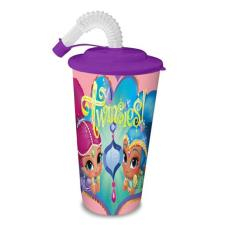 Shimmer & Shine Purple 500ml Tumbler With Straw