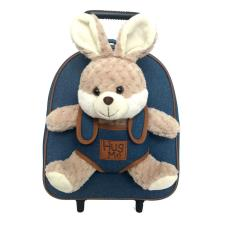 Hug Me Removable Trolley Backpack With Removable Plush Toy