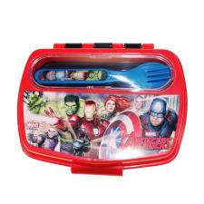 Marvel Avengers Lunch Box With Cutlery