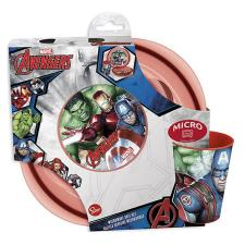 Marvel Avengers 3 Piece Microwave Meal Time Set