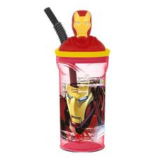 Marvel Avengers Iron Man 3D Figurine Tumbler with Straw
