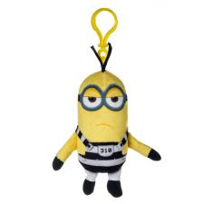 Minion Tim In Jail Plush Bag Clip