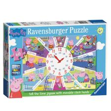 Peppa Pig 60pc Tell The Time Clock Jigsaw Puzzle