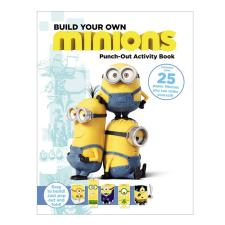 Build Your Own Minions Press Out Model Book
