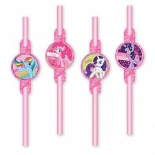 My Little Pony Drinking Straws (Pack of 8)