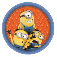 Large Minions Paper Plates (Pack of 8)