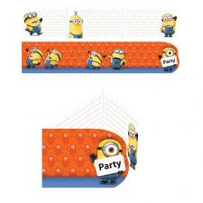 Minions Invites & Envelopes (Pack of 6)