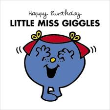3D Holographic Little Miss Giggles Mr Men Birthday Card
