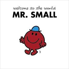 3D Holographic Mr Small Mr Men New Baby Boy Card