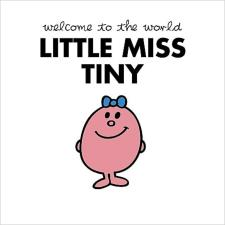 3D Holographic Little Miss Tiny Mr Men New Baby Girl Card