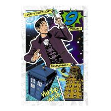 9th Birthday 3D Holographic Doctor Who Card