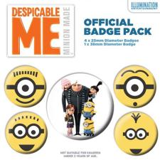 Minions Despicable Me Badge Pack