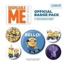 Minions Despicable Me Bello Badge Pack