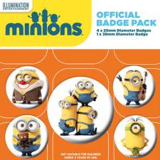Minions Characters Badge Pack