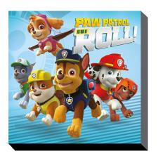 Paw Patrol On a Roll Canvas Print (30cm x 30cm)