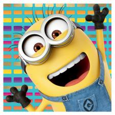 Despicable Me Minions Waving Card