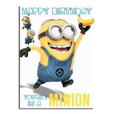 Minion 1 In A Minion Birthday Card