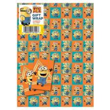 Despicable Me 3 Minions Gift Wrap and Tags
