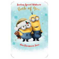 Minions To You Both Christmas Card