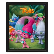 3D Trolls Collectors Limited Edition Framed Picture